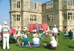 Live theatre at Lyveden New Bield (image courtesy of East Northamptonshire Council)